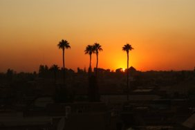 Reclaim Your Self Marrakech sunset